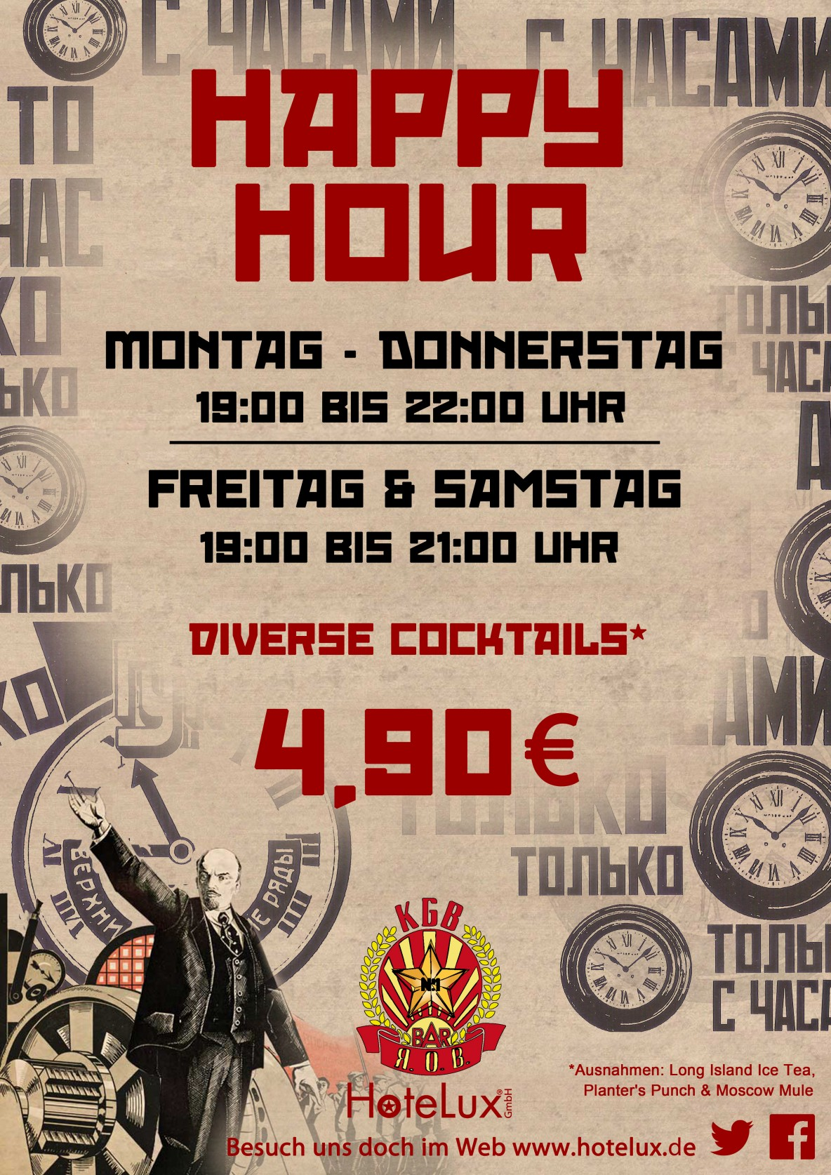 HappyHourPlakat